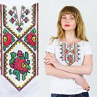 Жіноча футболка вишиванка Орнамент квітка