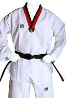 Добок кимоно для тхэквондо Mooto CO-5630 (полиэстер 100%, 110-160см), 240 г на м2)