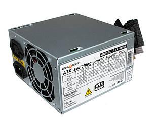 Блок питания LogicPower 450W ATX-450W, 80 mm, 20+4pin, 1x4pin, SATA х 1, Molex 2
