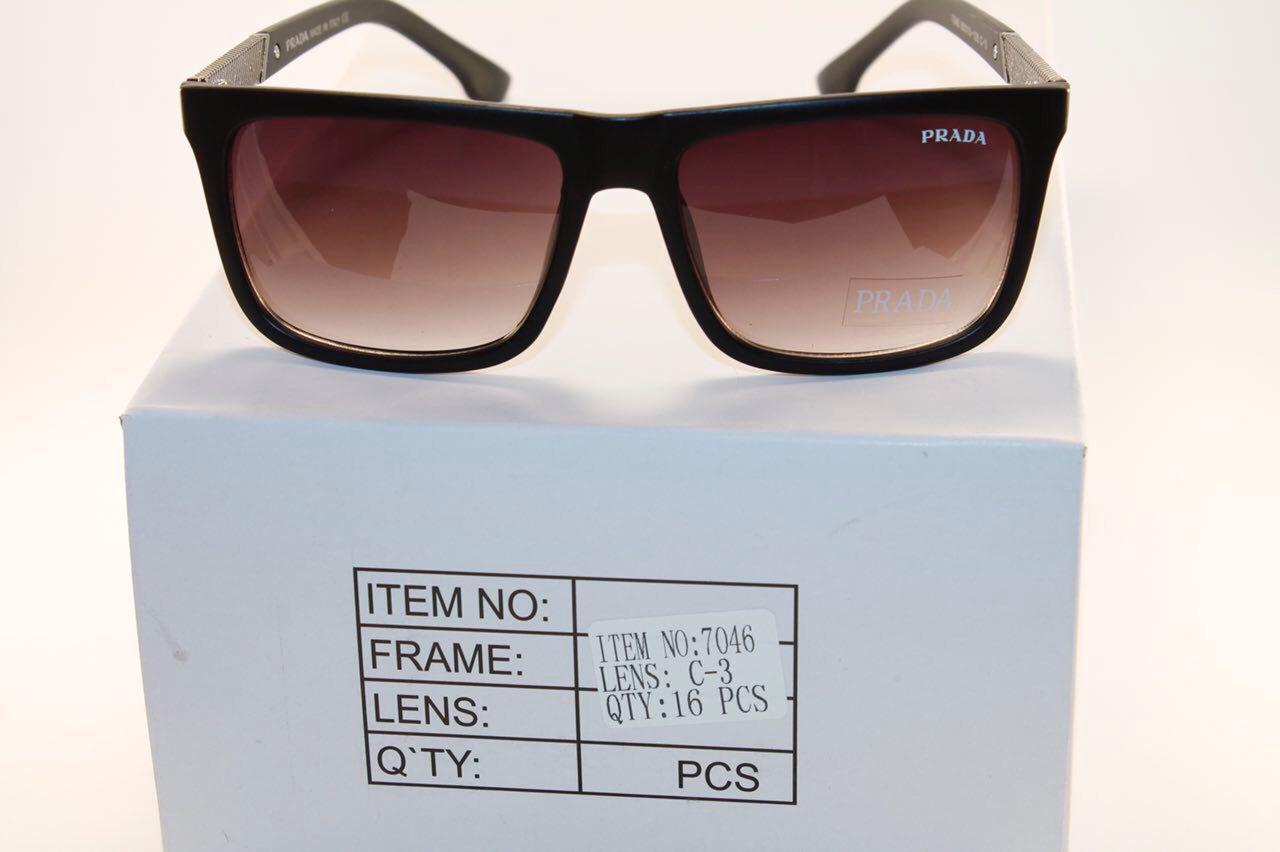 Солнце защитные очки в стиле Prada (унисекс)
