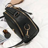 Мини сумочка с меховым брелком, фото 9