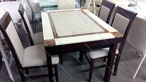 Стул кухонный Алла Микс мебель, цвет темный орех, фото 3