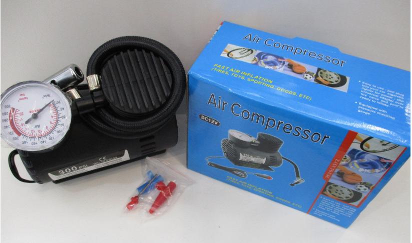 """Автомобильный насос (компрессор) Air Compressor DC-12V 300psi - Интернет-магазин """"Your smile"""" Киевстар +380686793227 Лайф +380731544707 в Одессе"""