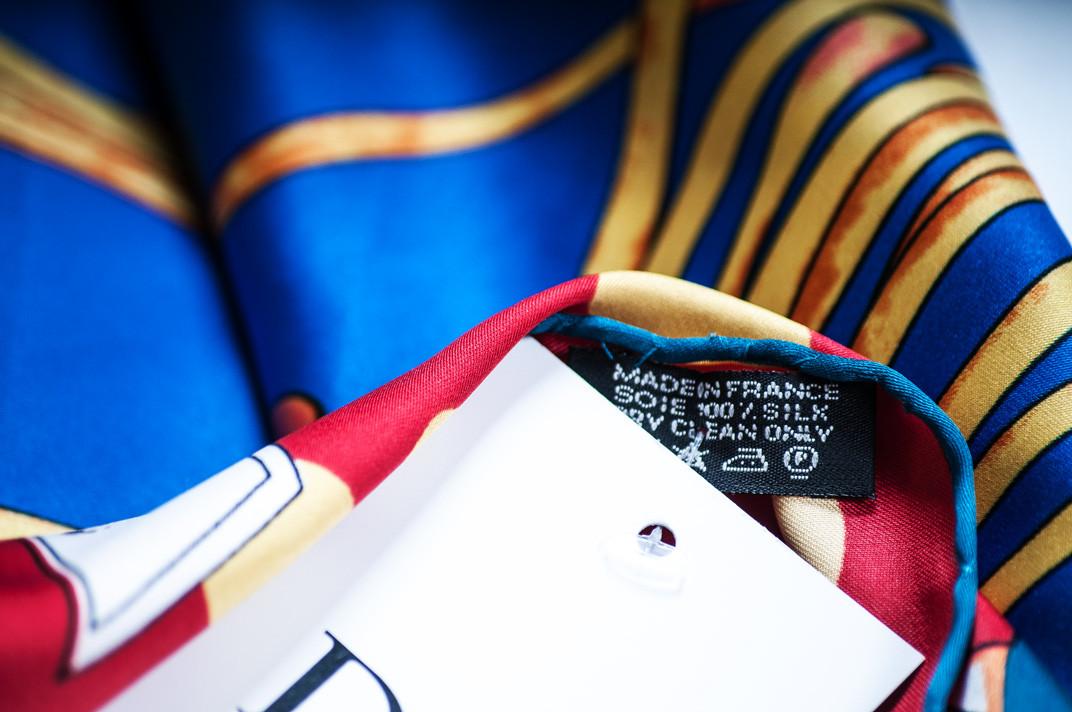 ded9ef5c049b Брендовый шёлковый платок DIOR
