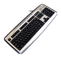 Клавиатура A4Tech KL-23MU USB Silver+Black