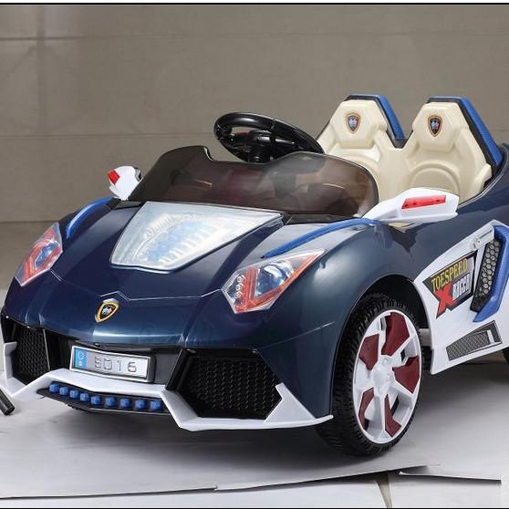Детский Электромобиль Lamborghini BS 016 синий на радиоуправлении