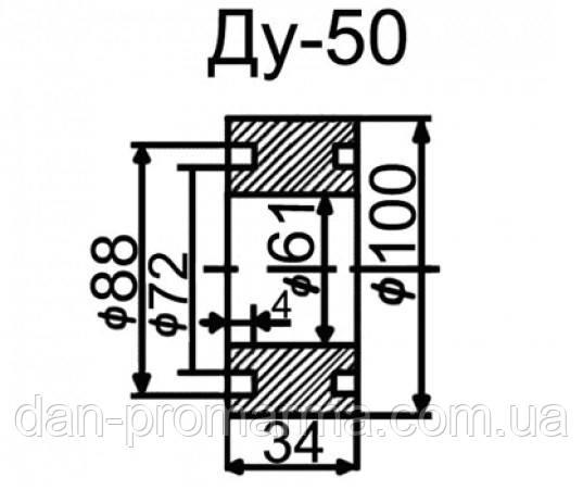 Затвор топливный ЗПТ-50 Ду50 Ру10