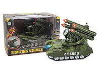 Детский игрушечный танк на батарейках.Детская игрушка для мальчиков.Детская военная техника.Детская машинка.