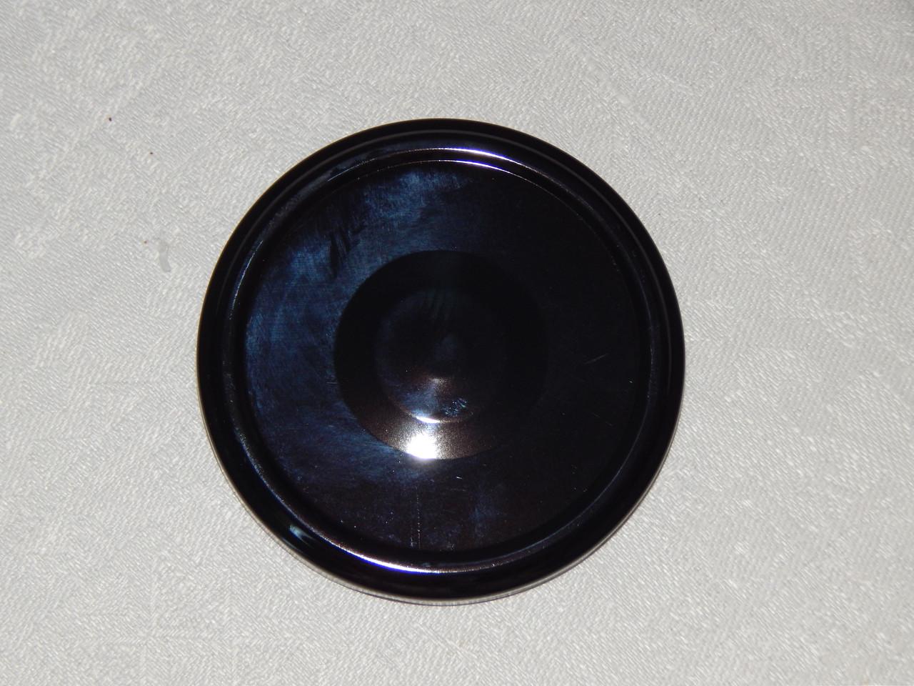 Крышка закаточная твист-офф размер 82 мм черная