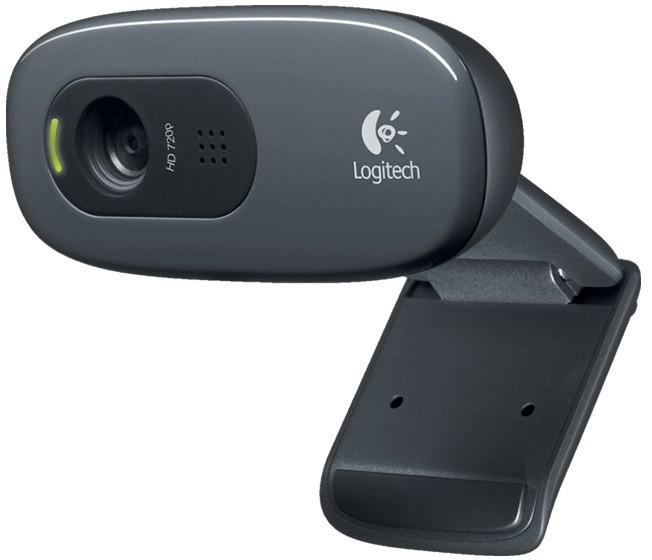 Web камера Logitech HD C270 (960-001063) Black, 3 Mpx, 1280x720, USB 2.0, встрое