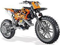 Конструктор Technology Кроссовый мотоцикл 38041, фото 1