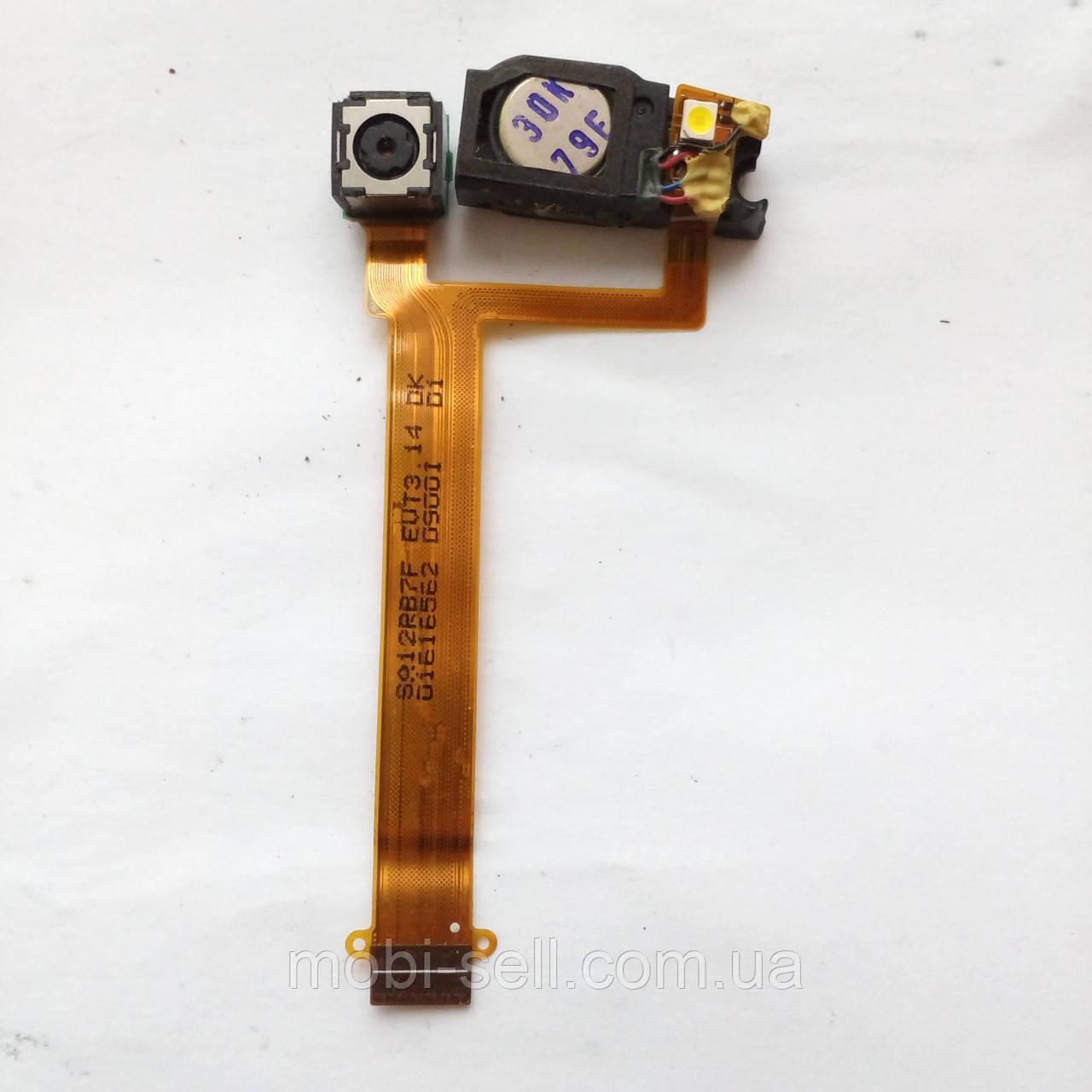Камера 3.2 Мп для Samsung D900i с динамиком и вспышкой на шлейфе p.n.: SA122B7F EVT3.14 DK