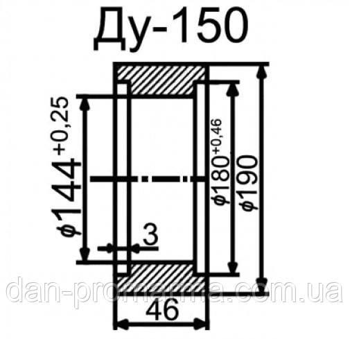 Затвор топливный ЗПТ-150 Ду150 Ру10