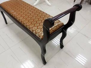 Скамья деревянная  Джокер Микс мебель, цвет темный орех, фото 2