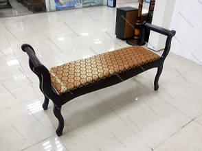 Скамья деревянная  Джокер Микс мебель, цвет темный орех, фото 3