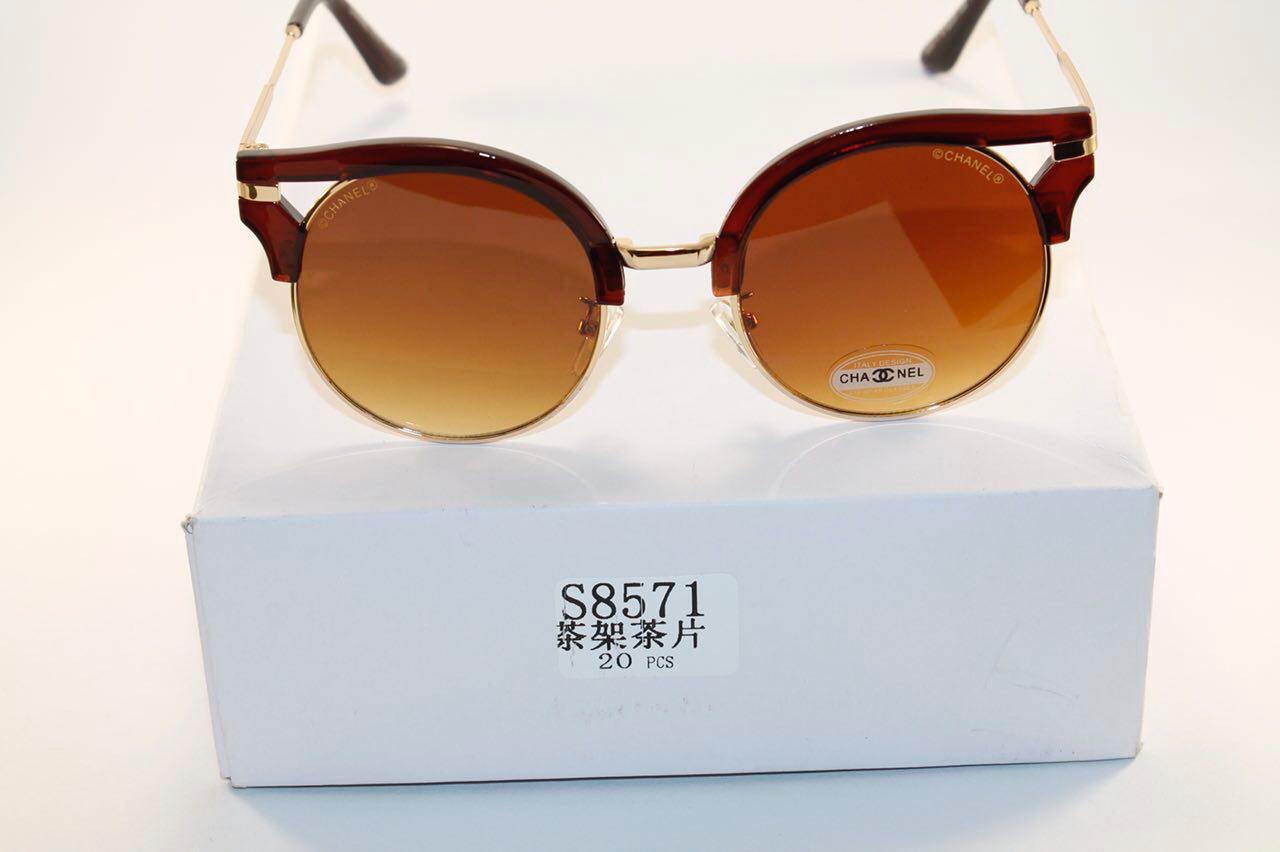 Солнце защитные очки в стиле Chanel (женские)