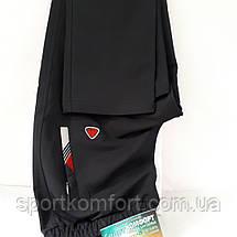 Спортивный мужской трикотажный костюм SOCCER, красный/черный, размер 46-54., фото 3