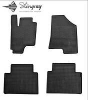 Kia Sportage III 2010-  Комплект з 4-х ковриків Чорний в салон. Доставка по всій Україні. Оплата при отриманні