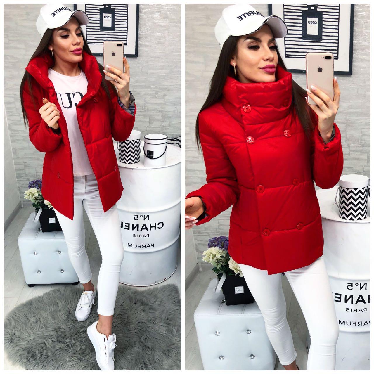 Куртка демисезон (1001/2) красный