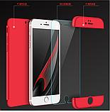 Чехол iPaky 360 градусов для Apple iPhone 6 6S  Черный Black, фото 4