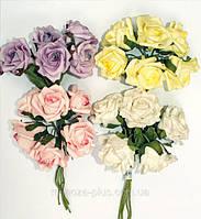 Роза (латекс) большая с блестками