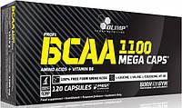 BCAA mega caps 1100 Olimp, 120 капсул