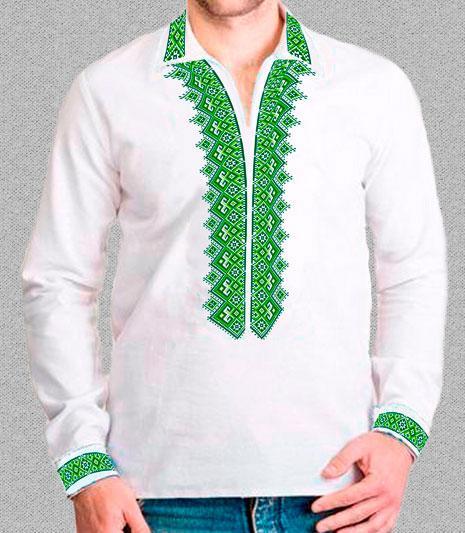 Заготовка мужской рубашки
