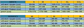 Термобельё MIZUNO BT MID WEIGHT PRINT V NECK (W) 73CL293-68, фото 2