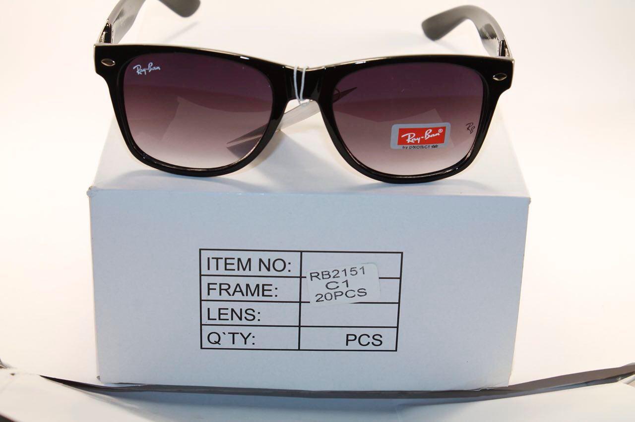 Солнце защитные очки в стиле Ray Ban (унисекс)