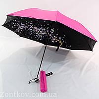 """Механический зонт обратного сложения """"сакура"""" от фирмы """"Yuring"""" , фото 1"""