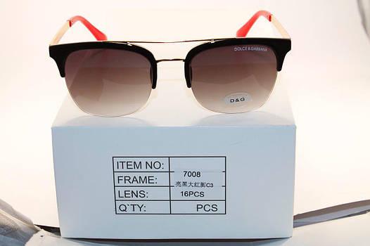 Солнце защитные очки в стиле Dolce & Gabbana (унисекс)