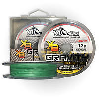 Шнур DuraKing Gravity 8X Braid 150m. 2,5/0.25mm. /40Lbs. /18.1kg. (Fluo Green)