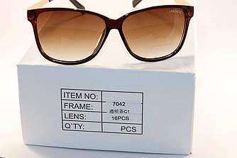 Солнце защитные очки в стиле Lacoste (унисекс)