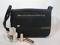 Черная женская сумочка-клатч на каждый день