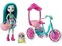Игровой набор Энчантималс  кукла на велосипеде (Enchantimals Built for Two Doll Playset, Turtle & Tricycle)