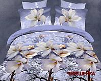 Семейный набор хлопкового постельного белья из Ранфорса №073 Черешенка™