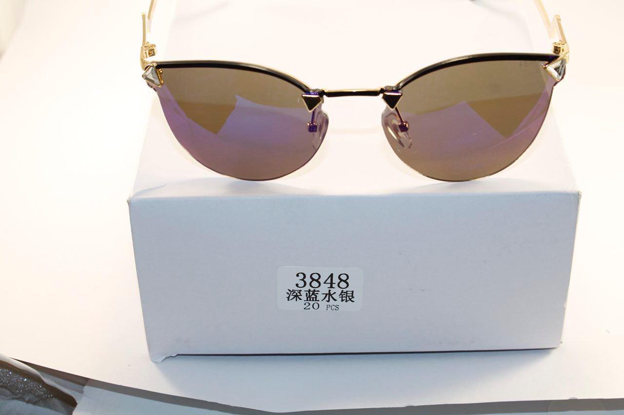 Солнце защитные очки в стиле Fendi (женские)