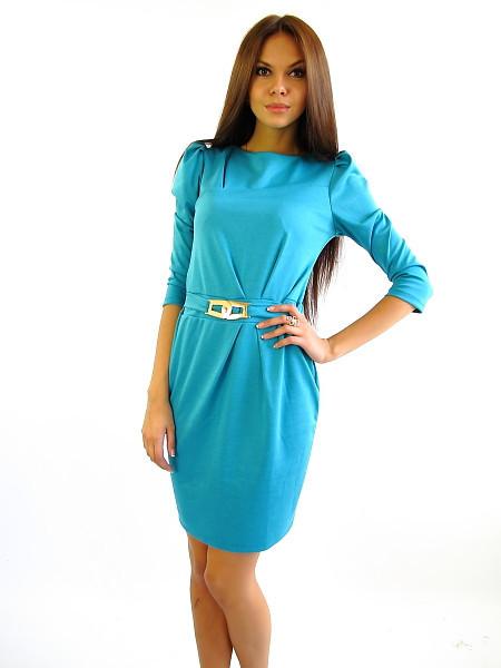 Стильное платье в офис