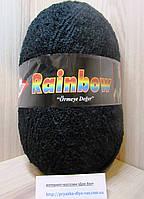 Фантазийная пряжа Alize RAINBOW (350 г/875 м, 15%-альпака, 15%-шерсть, 10%-полиэстер, 60%-акрил) 60(чёрный)