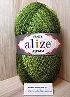 Фантазийная пряжа Alize RAINBOW (350 г/875 м, 15%-альпака, 15%-шерсть, 10%-полиэстер, 60%-акрил) 1004
