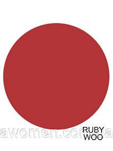 Матовая жидкая помада MAC Lustre Lip Gloss (Ruby Woo)