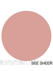 Матовая жидкая помада MAC Lustre Lip Gloss (See Sheer)