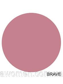 Матовая жидкая помада MAC Lustre Lip Gloss (Brave)
