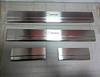 Накладки на пороги Ford C-Max I 2003-2010 4шт. Standart