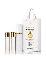 Духи Chanel Chance 3 х 15 мл мини в подарочной упаковке копия