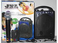 Портативная звуковая система Jsl А3, портативный беспроводной усилитель звука, звуковая радиосистема