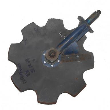 Стойка в сборе (передняя) (чистик за часовой) АГД-1,3