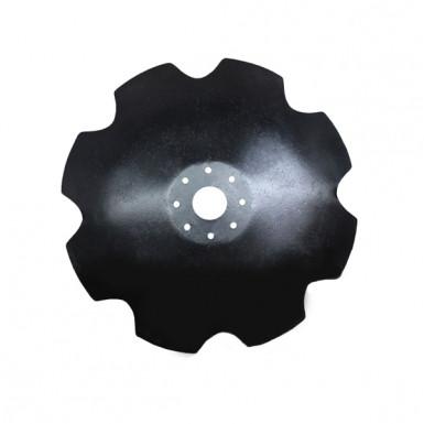 Диск бороны (ромашка) АГД (650 мм) (8 отв.)