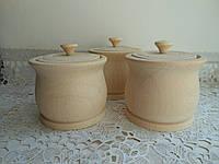 Деревянный бочонок небольшого размера для соли, перца или приправ. Диаметр 70 мм, высота 65 мм. Дерево бук.