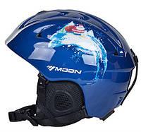 Горнолыжный / сноубордический шлем DOTOMY MOON (Blue Glance)